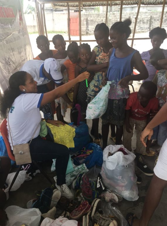 Clothe the needy in Liberia Christmas event